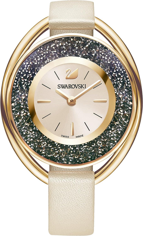Swarovski Reloj Crystalline Oval, rosa