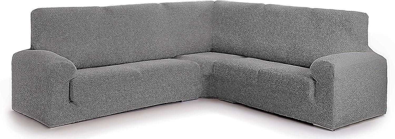 Funda para sofá rinconero Hecho de Tejido Adaptable Spongy tamaño Extra (hasta 600 cm) - Color 06