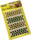 Noch 07004 Ciuffi d'erba Beige e Verde 12 mm O-HO (92 pz)