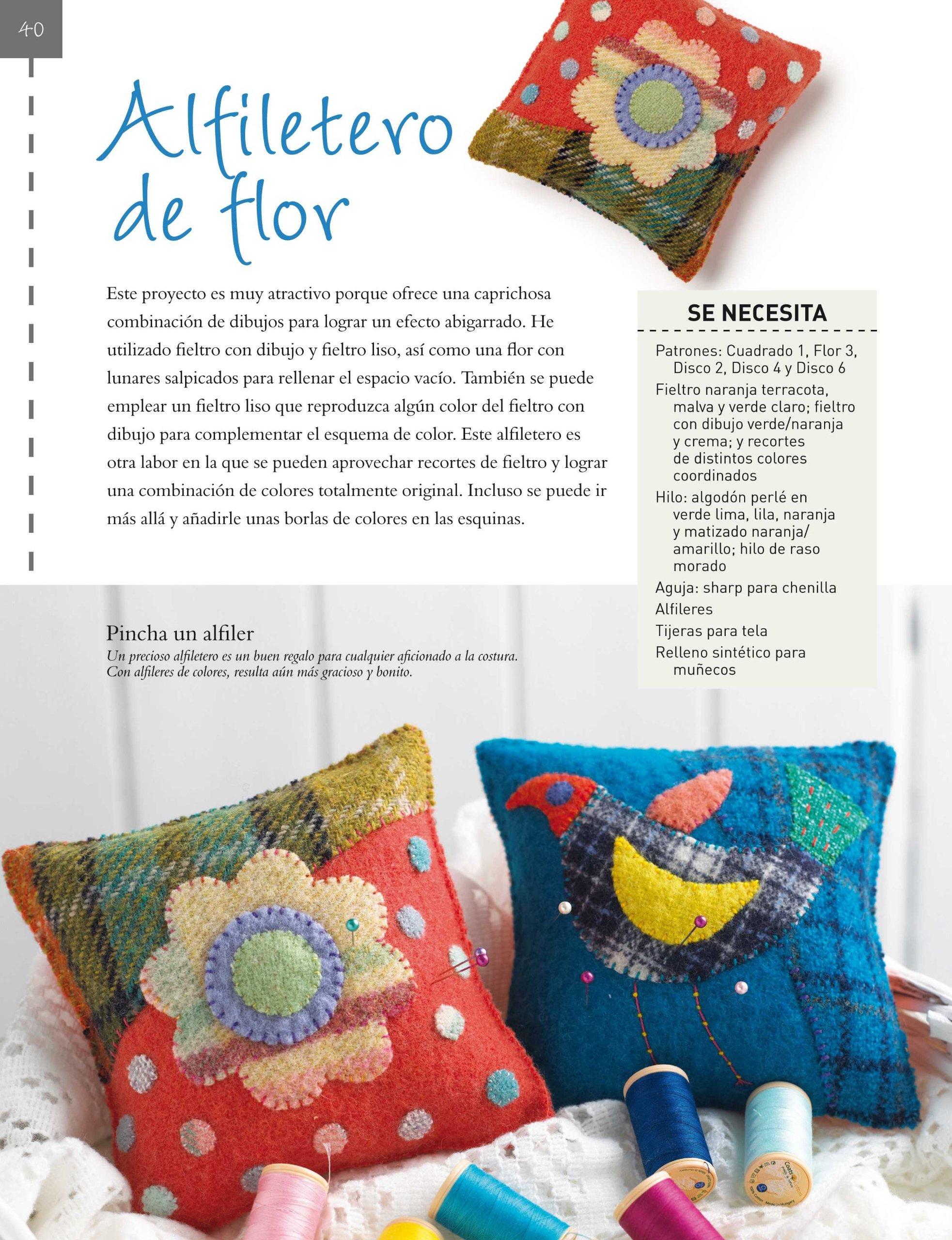 Adornos para decorar la casa con fieltro: Corazones, flores, estrellas, pájaros...: MILLINGTON(743661): 9788498743661: Amazon.com: Books
