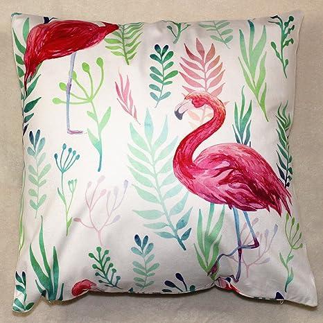 Chengbao almohada almohada cojín y Flamingo pequeño fuego ...