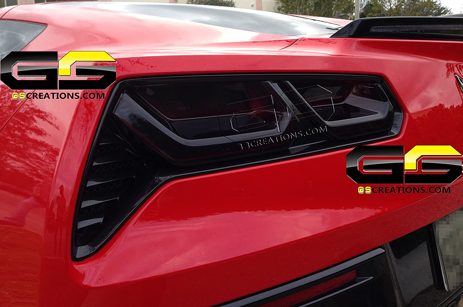 Amazon.com: Corvette Blackout Kit   Molded Acrylic Rear Taillights : C7,  Stingray, Z51, Z06, Grand Sport: Automotive