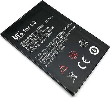 Batería Bateria Interna Recargable Battery ZTE Blade L3 NUEVO: Amazon.es: Electrónica