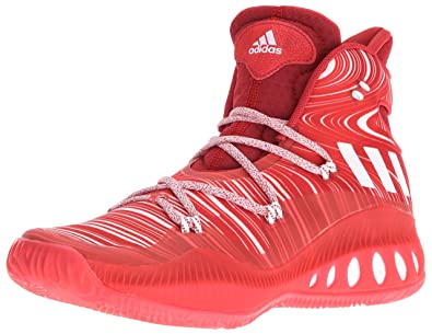 adidas Performance Men's Shoes | Crazy Explosive Basketball,  Scarlet/White/University Red,