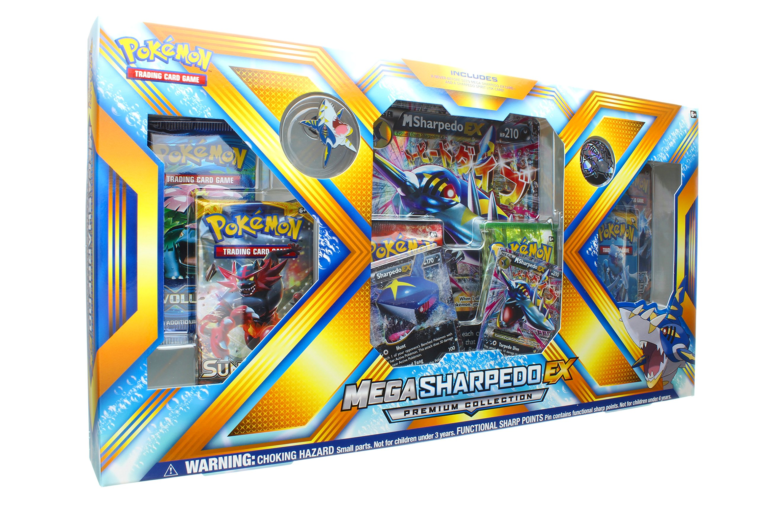 Pokemon TCG: Mega Sharpedo EX Premium Collection Box