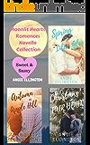 Moonlit Hearts Romances :  Novella Trio of Seasonal Clean Romances