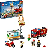 LEGO City Burger Bar Fire Rescue 60214 Building Toy