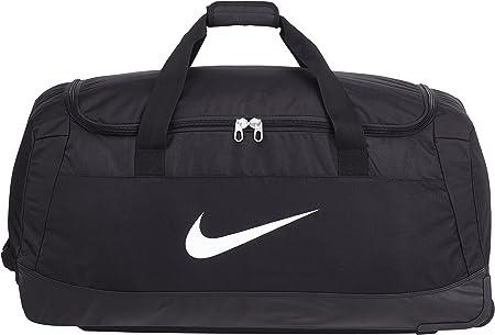 Evento Detener Posible  Nike Club Team Swoosh Roller Bag 3.0 Bolsa de deporte, 82 cm, 120 liters,  Negro (White): Amazon.es: Equipaje