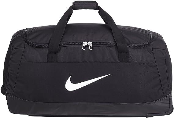 aa07a667cd Nike Club Team Swoosh Roller Bag 3.0 Sac de sport grand format, 82 cm, 120  liters, Noir (White): Amazon.fr: Bagages