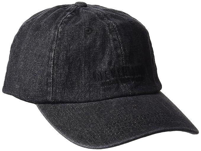 Desconocido Springfield Black Denim Cap, Gorro de Punto para Hombre, Negro, One Size