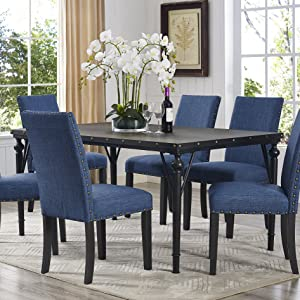 Roundhill Furniture Biony Collection, Counter Height Dining Table