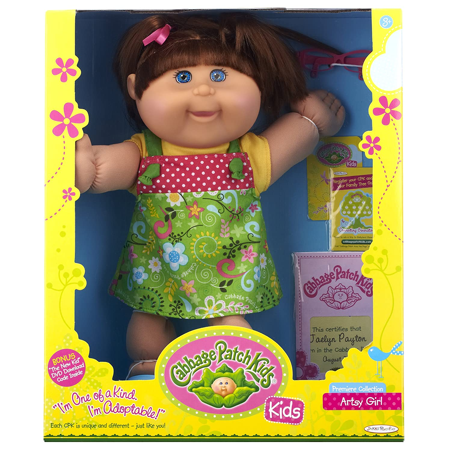 Cabbage Patch Kids Brunette Artsy Girl Amazon Toys & Games
