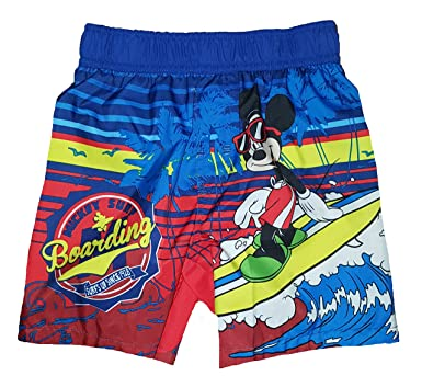789eb33707 Amazon.com: Toddler Boys Mickey Mouse Swim Short Trunk: Clothing