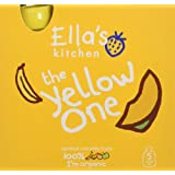 Ella's Kitchen The Yellow One Organic Smoothie Fruits Multipack 5 x 90 g (Pack of 6, Total 30 Packets)