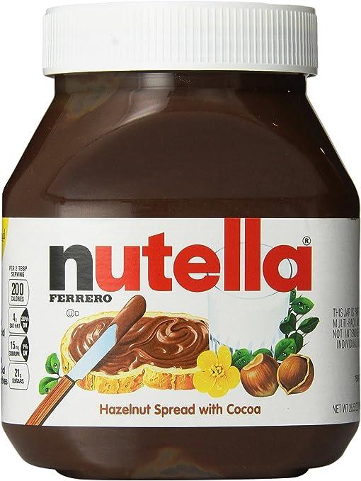 Nutella Chocolate Hazelnut Spread 26 5 Oz Pack Of 2 Amazon Ca