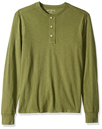 e7dc8ae2 J.Crew Mercantile Men's Long-Sleeve Garment-Dyed Henley at Amazon Men's  Clothing store: