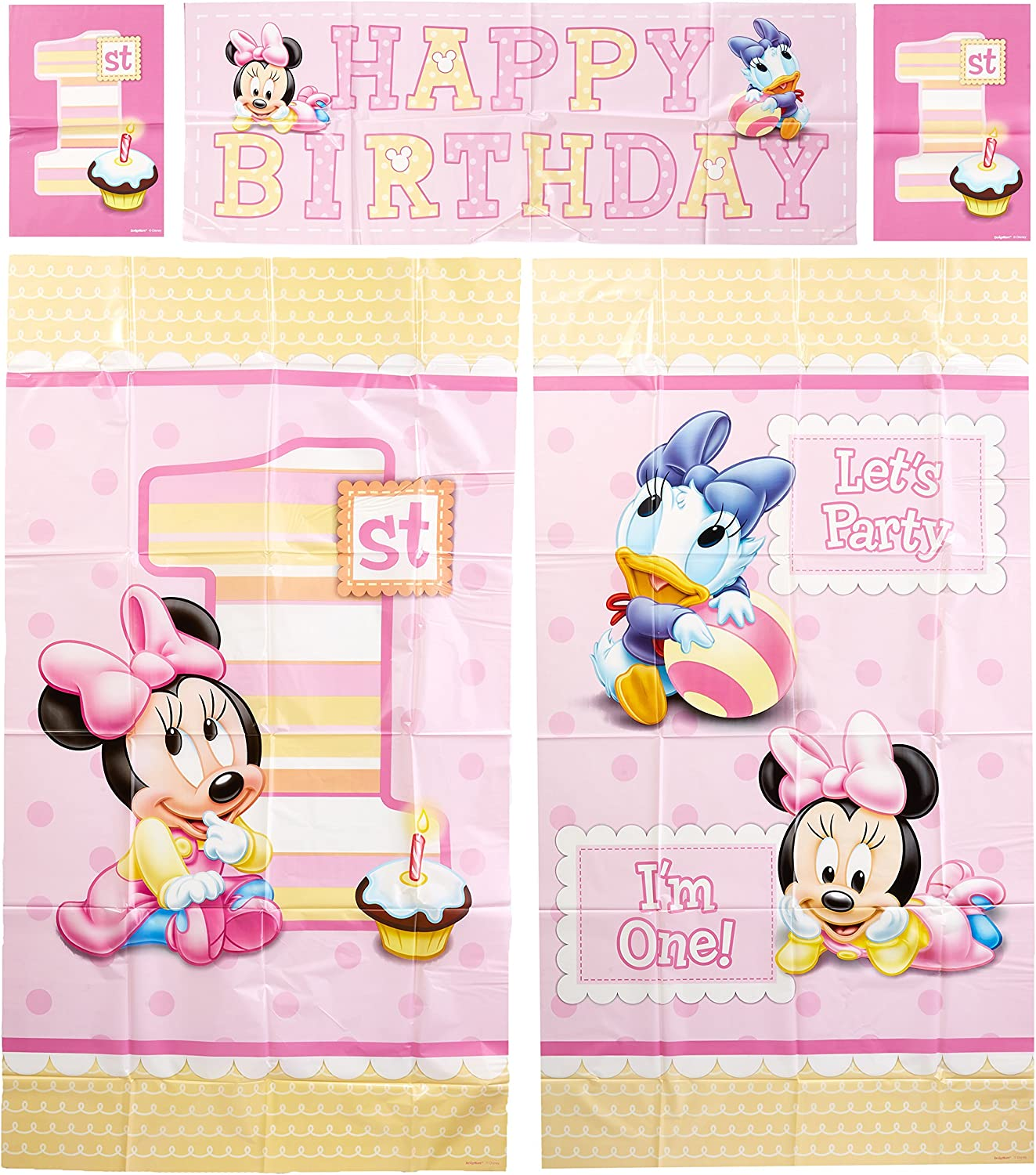 Amazon.com: Amscan – Disney Baby Minnie Mouse Primer ...
