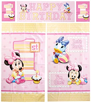 Discount Party Supplies And More Disney Minnie Mouse 1 Geburtstag