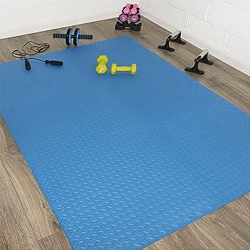 ANTI FATIGUE MATS 200 SQFT EXERCISE PLAY GYM FLOOR FLOORING INTERLOCKING PUZZLE