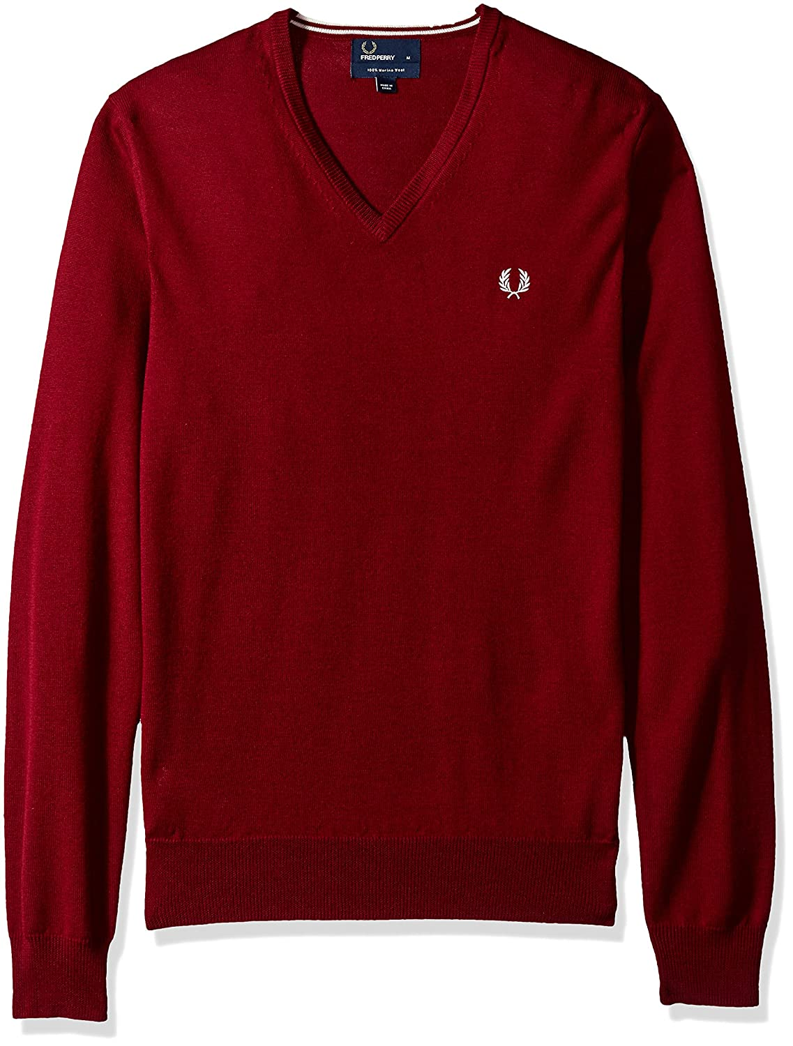 Fred Perry FP Classic V Neck Sweater, Pull Homme MainApps K7210