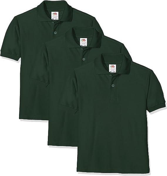 sizes 3-13 Fruit Of The Loom Children/'s 65//35 Piqué Polo Unisex Kids tops