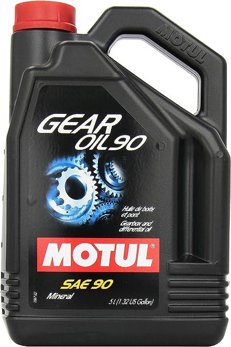 MOTUL Gear SAE mildlegiertes – Aceite de aceite de transmisión de ...