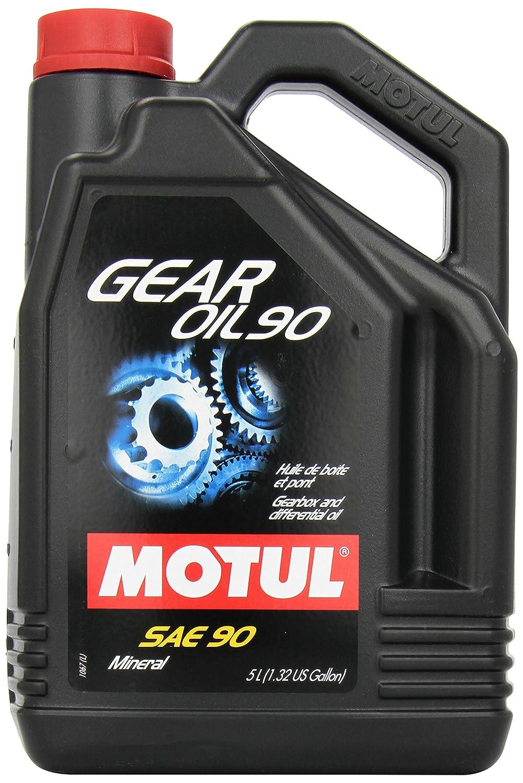 Motul olio Gear SAE Mildlegiertes 90/90-Olio minerale di trasmissione, 5 l