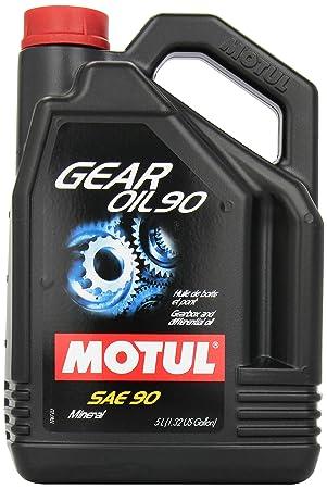 MOTUL Gear SAE mildlegiertes - Aceite de aceite de transmisión de 90/90 5 litros Mineral: Amazon.es: Coche y moto