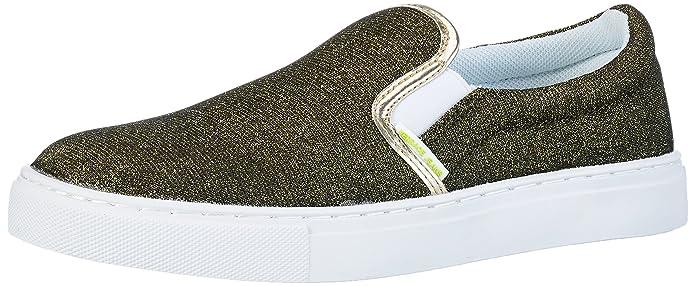 Versace Jeans (VES6U) EE0VNBSC1, Mocasines para Mujer, 899+901-Em27, 38 EU: Amazon.es: Zapatos y complementos