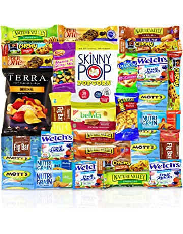 011bd2c0239 Healthy Snacks Care Package (Count 30) - Discover a whole new world of  Healthy