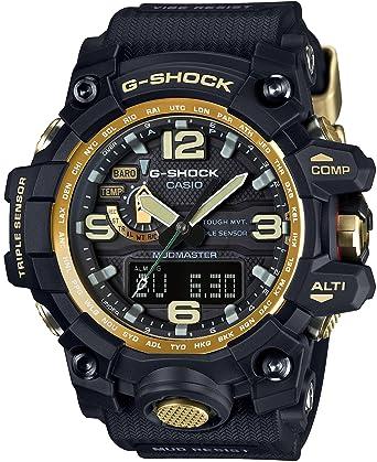 brand new 0a945 dc5c9 [カシオ] 腕時計 ジーショック マッドマスター 世界6局対応電波ソーラー GWG-1000GB-1AJF ブラック
