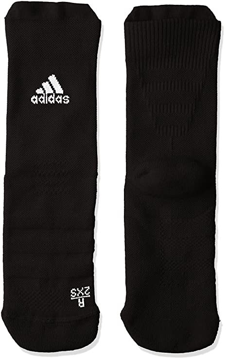 Adidas Ask CR LC Calcetines, Unisex Adulto, (Negro/Blanco), 31
