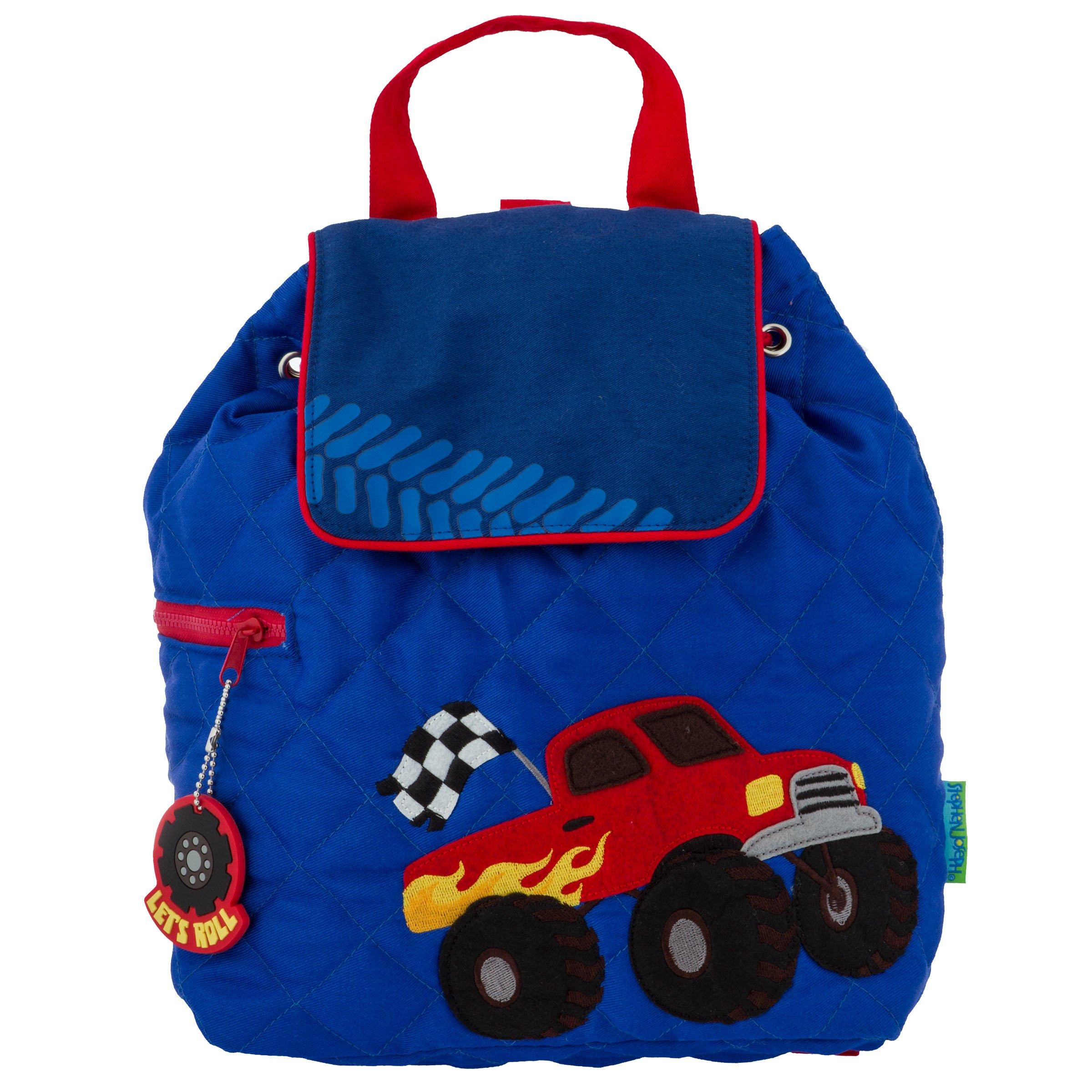 Stephen Joseph Quilted Backpack, Monster