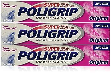 Amazon.com : Super Poligrip Original, 2.4-Ounce (Pack of 3 ...