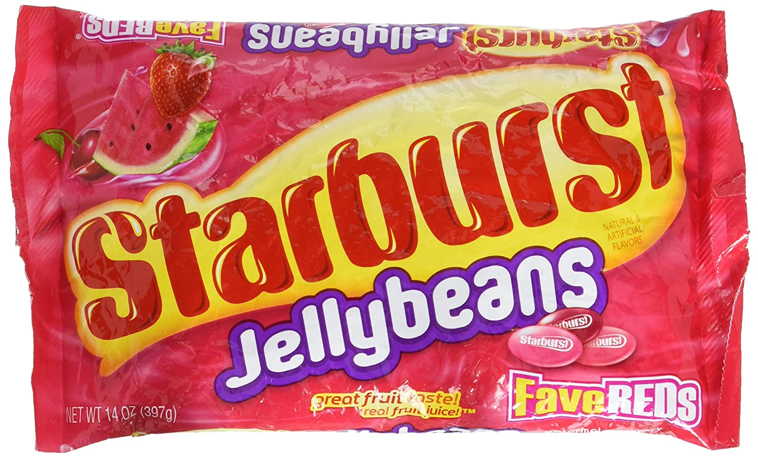 Admirable Amazon Com Starburst Fave Reds Jelly Beans 14 Ounce Bag Squirreltailoven Fun Painted Chair Ideas Images Squirreltailovenorg