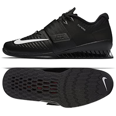 NIKE Men's Romaleos 3, Black/White, ...
