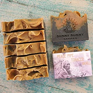 product image for Men Tobacco Soap, Charcoal Face Soap, Anti Acne Soap, Tobacco Vanilla Soap, Organic Soap Bar, Natural Skin Care, Men Skin Care, Shave Soap
