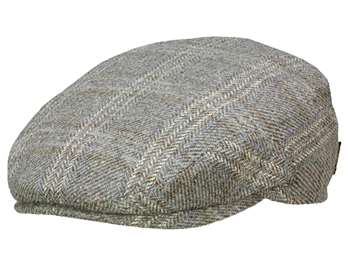 c1df419486e Göttmann Men s Flat Cap Bristol-II - grey 55  Amazon.co.uk  Clothing