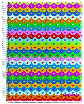 Miquel Rius 936318 - Cuaderno A4, 120 Hojas, diseño Tejas