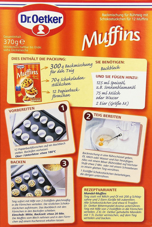 Mini kuchen dr oetker backmischung