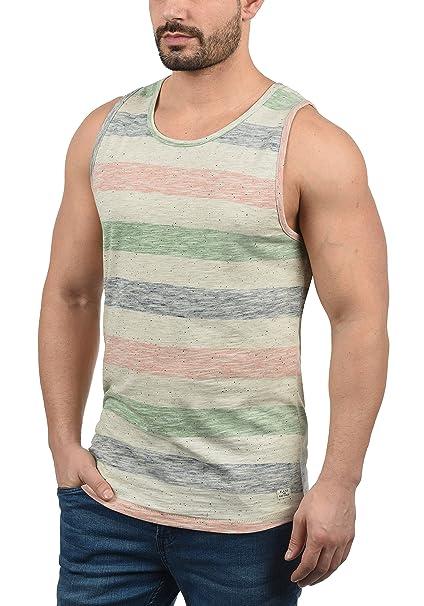 Blend Viva Camiseta Básica De Tirantes Tanque Tank Top para Hombre con Cuello Redondo 5QDlQrv