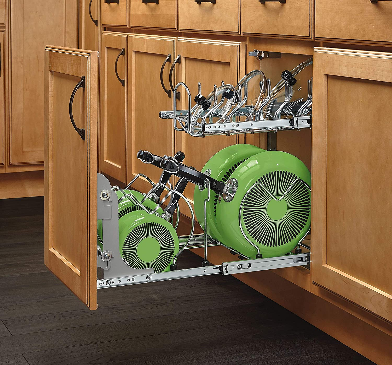 Rev-A-Shelf Certified Refurbished 12 Two-Tier Cookware Organizer