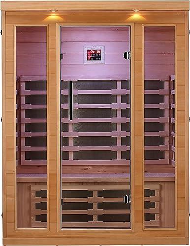 ALEKO Indoor Canadian Hemlock Infrared Sauna