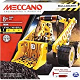 Erector by Meccano Bulldozer Model Vehicle Building Kit, STEM Education Toy for Ages 8 & up