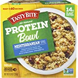 Tasty Bite Mediterranean Style Protein Bowl, Ready to Eat, Microwaveable, Vegan, 14 Grams of Plant Protein, 8.8 Ounce (Pack o