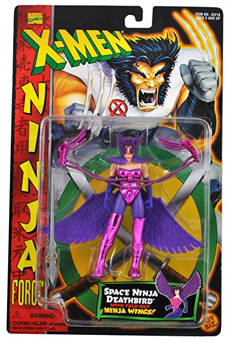 Amazon.com: Marvel Comics año 1996 x-Men Ninja Force Series ...
