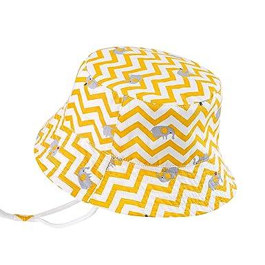 1ba646a8e Baby Toddler Sun Protection Hat UPF 50+ Kids Boys Girls Bucket Hat