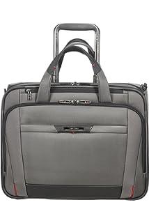 Black 44 cm Spinner Tote for 15.6 Laptop 3.3 KG Travel Tote SAMSONITE PRO-DLX 5 22 liters