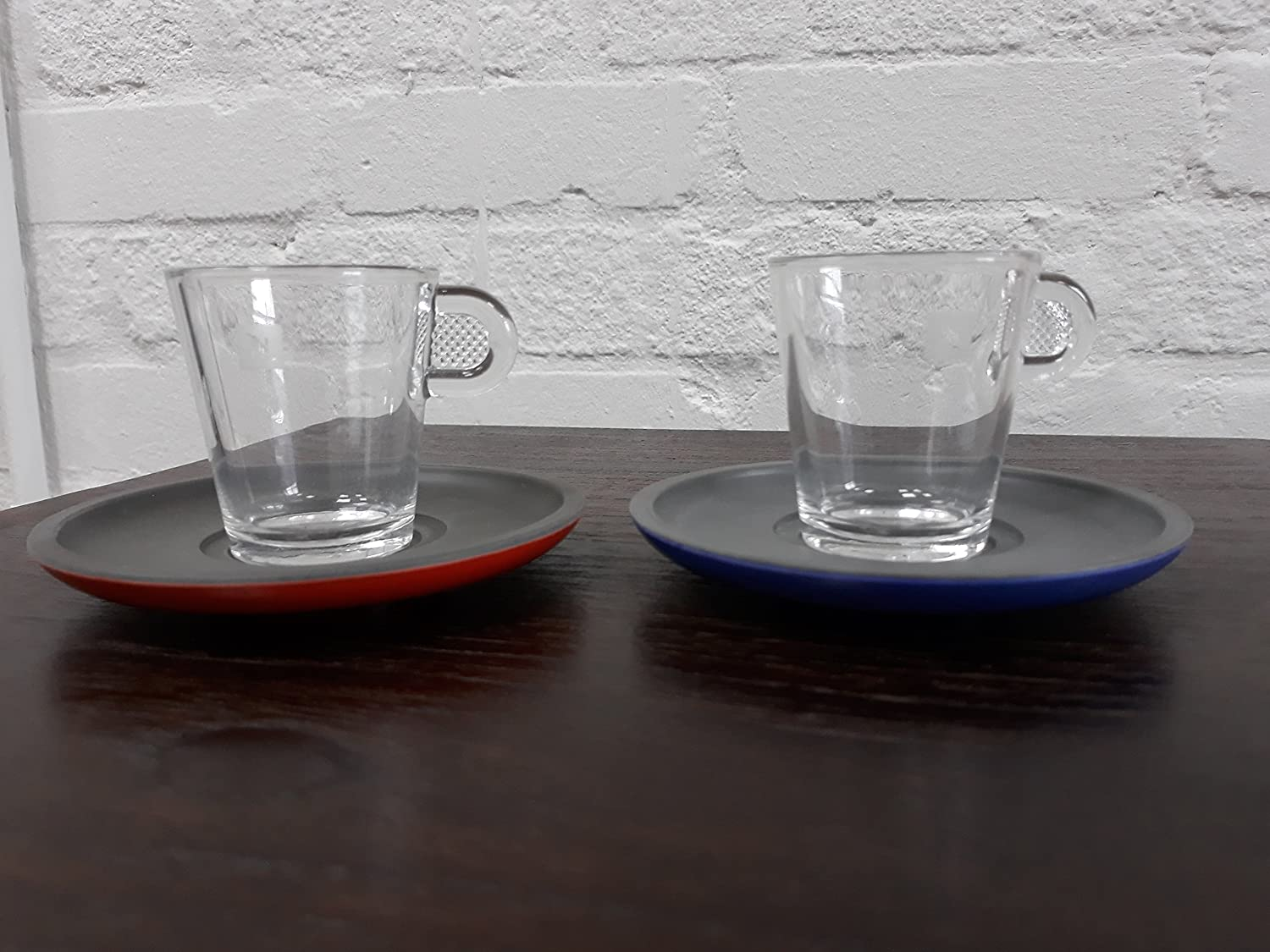 Nespresso View Collection: Set of 2 espresso glass cups and