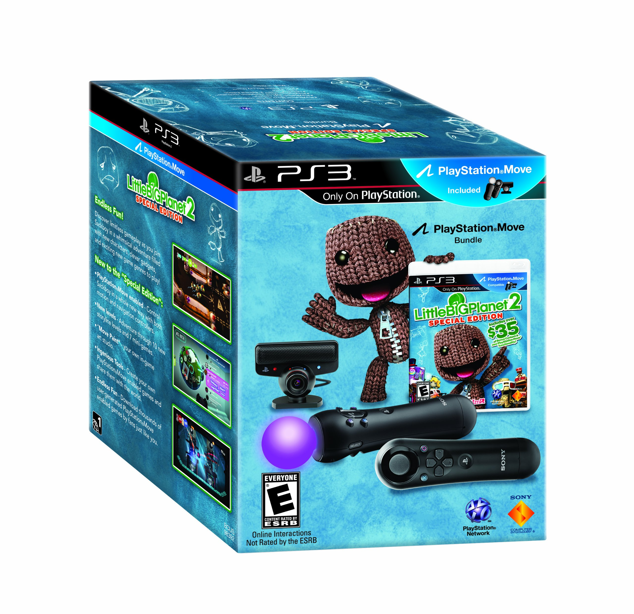 LittleBigPlanet 2 Special Edition Move Bundle - Playstation 3 by Sony (Image #2)